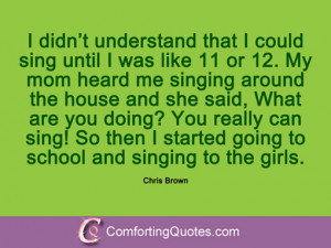 12 Quotes And Sayings From Chris Brown