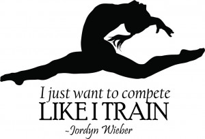 Jordyn-Weiber-Wall-Quote-Gymnastics-Vinyl-Decal-Sticker-16-x10-Sports ...