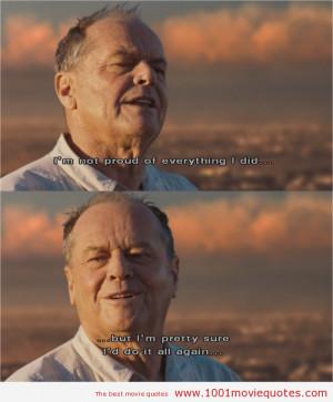 The Bucket List (2007) - movie quote