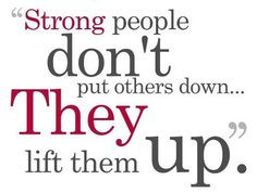 So True!!! People who are rude, mean and judgmental do this because ...