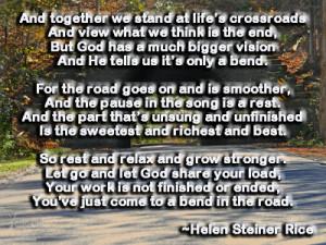 Helen Steiner Rice...