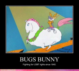 Funny Bugs Bunny Quotes Bugs was never afraid to shake