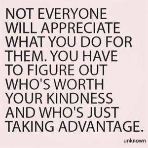 People Who Take Advantage Of You
