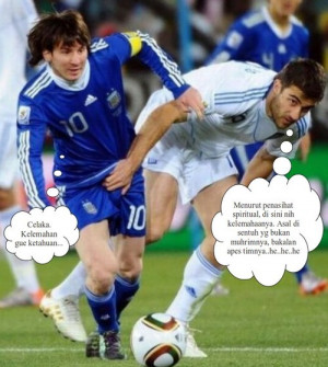 football picture, Funny Just right size picture, Funny Lionel Messi ...