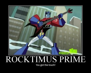 ... it be Optimus Prime or Megatron post your Transformers humor here