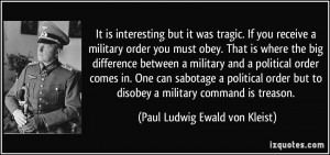 Army Essays On Obeying Orders