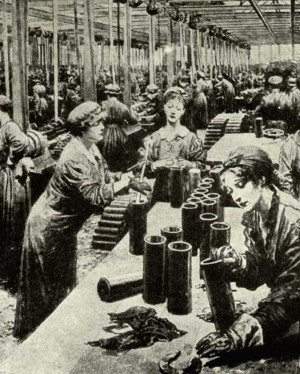 Feature Articles - Women and WWI - Introduction