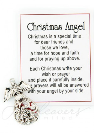 Christmas Angel Quotes Quotesgram