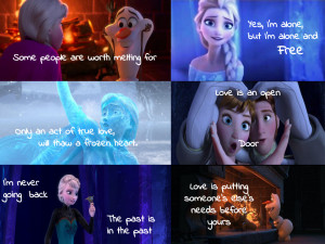 Frozen Quotes by courtneyfanTD