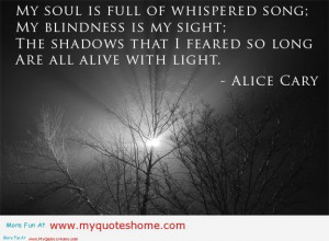 My soul is full of love – Quotes on death