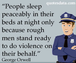 Picture Quotes About Violence