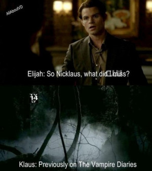 Klaus & Elijah funny :D - the-vampire-diaries-tv-show Fan Art