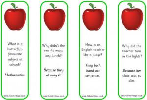 School Jokes For Kids Apple bookmarks - school jokes