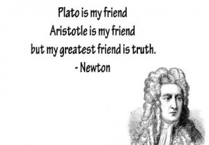 Isaac newton, quotes, sayings, truth, friend