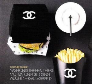 Chanel lance son fast food