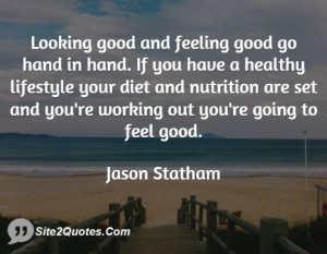 Looking good and feeling good go hand in hand. If you have a healthy ...