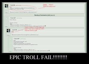 Epic Troll Fail by sonic2344