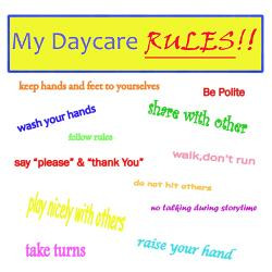 my_daycare_rules_greeting_card.jpg?height=250&width=250&padToSquare ...