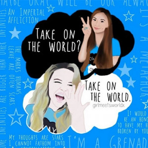 People were freaking out when they saw you wearing a TFiOS shirt in ...