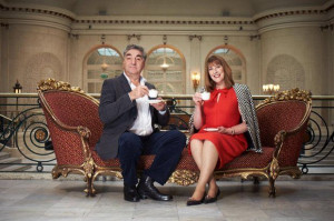 Jim Carter and Phyllis Logan, aka Downton Abbey's Mr Carson and Mrs ...