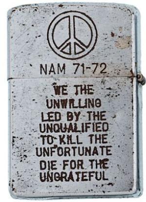 the psyche of war: Zippo lighters from U.S. troops fighting in Vietnam ...