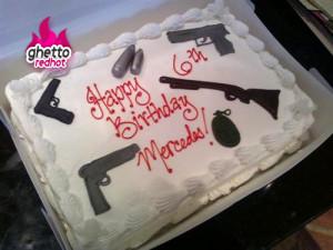 Happy birthday, keep it gangsta