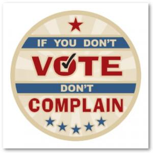 """... to Washington by good people who don't vote.""""–William E. Simon"""