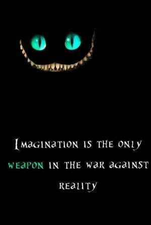 Weapon against reality