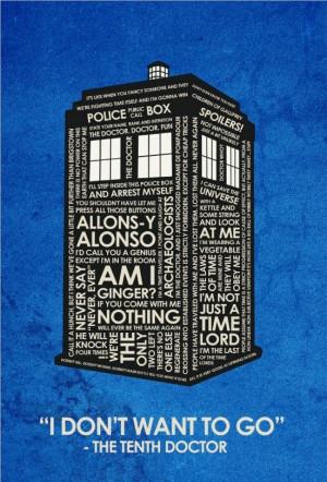 Doctor Who quotes. 10!