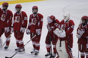 Plattsburgh State's Barry Roytman (from left), Michael Cassidy, Dillan ...