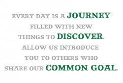 Every day is a journey filled with new things to discover. Allow us ...