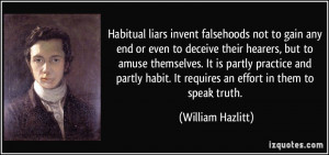 Pathological Liar Quotes Compulsive Liar Quotes