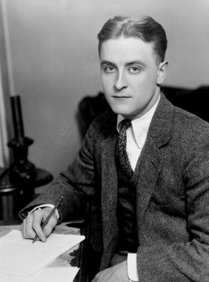... Scott Fitzgerald, bekend van o.a. The great Gatsby en The curious