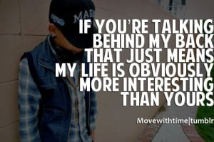 ... my least who talk behind your back talk behind my back quotes found