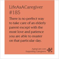 ... yourself for the mistakes you've made while caregiving? #caregiver