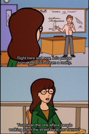 Could this be my favorite Daria quote? It might just be.