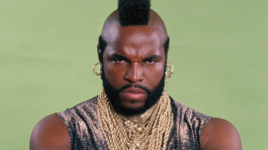 "THE A-TEAM — Pictured: Mr. T as Sgt. Bosco ""B.A."" Baracus ..."