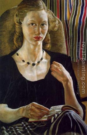 Stanley Spencer : Portrait Of Daphne Spencer