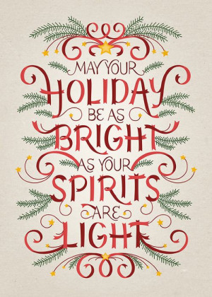 ... holiday be as bright as your spirits quote light christmas holiday