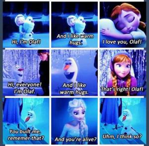 ... Frozen Elsa Anna And Olaf, Frozen Quotes, Disney Frozen, Disney Movie