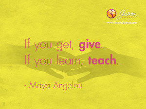 Inspirational Quotes by Maya Angelou