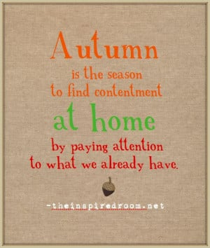 Re: Autumn/Fall Quotes