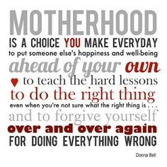 from happy money saver motherhood is a choice you make everyday