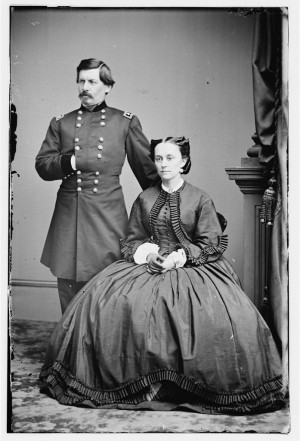 Major General George B. McClellan and his wife, Ellen Mary Marcy ...