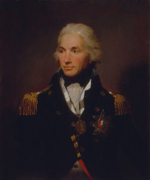 Vice-Admiral Horatio Lord Nelson