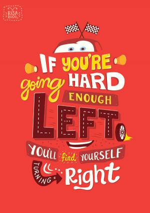 ... Typographic Illustrations Of Inspiring Quotes From Popular Pixar Films