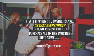 HAHAHA sarcasm at its best :p