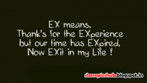 Ex-Girlfriend Quote in English | Girlfriend Quotes For Facebook Share