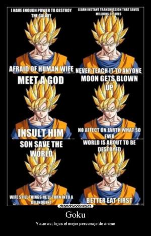 etiquetas goku dbz fail meme