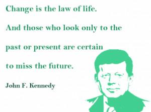 Printable John F. Kennedy Life Quotes